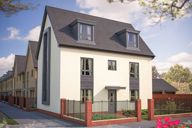 "Thumbnail Detached house for sale in ""The Edworth"" at London Road, Calverton, Milton Keynes"