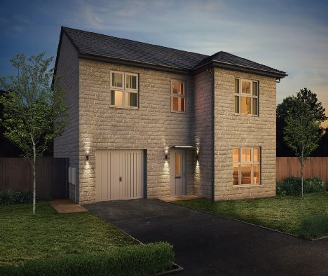 Thumbnail Detached house for sale in The Venice, Whitwood Lane, Castleford