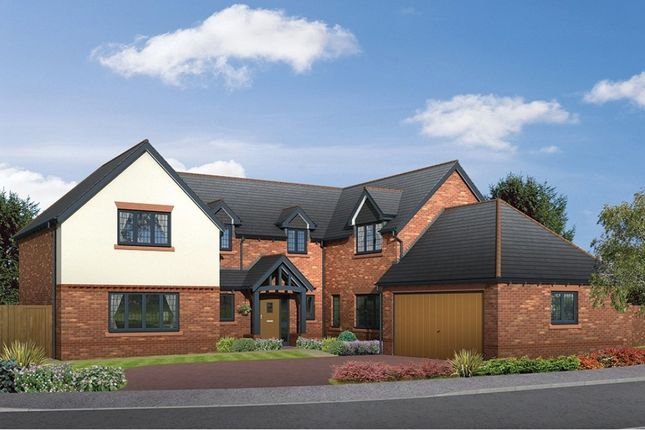 "Thumbnail Detached house for sale in ""The Hazelmere"" at Moor Lane, Wilmslow"