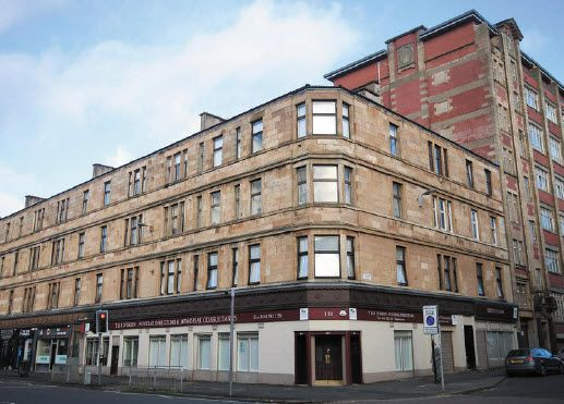 Flat to rent in Clarendon Street, St Georges Cross, Glasgow