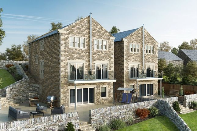 Thumbnail Detached house for sale in Liphill Bank Road, Holmfirth