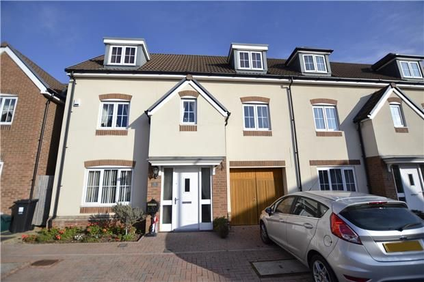 Thumbnail Town house for sale in Hazel Brook Gardens, Bristol