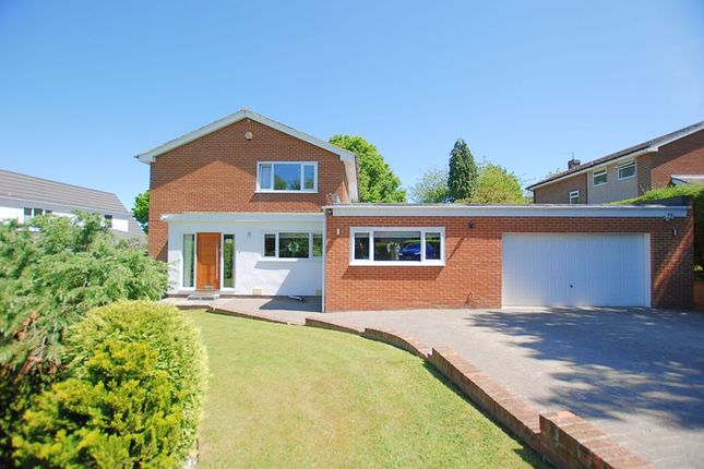 Thumbnail Detached house for sale in High View, Ponteland, Newcastle Upon Tyne