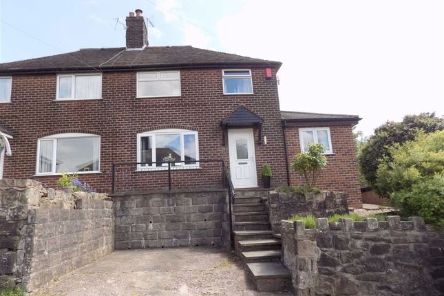 Thumbnail Semi-detached house for sale in Geoffrey Avenue, Leek, Staffordshire