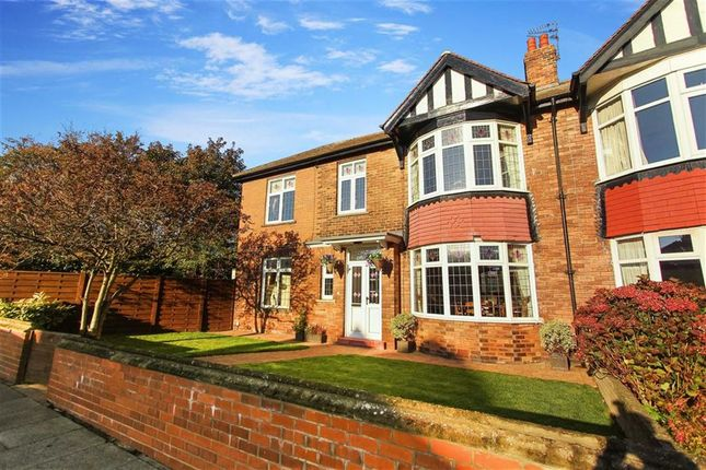 Thumbnail Semi-detached house for sale in Percy Park, Tynemouth, Tyne And Wear