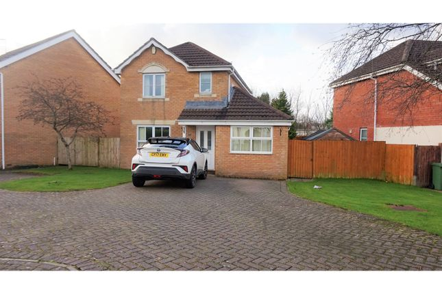 Thumbnail Detached house for sale in Colliers Avenue, Pontyclun