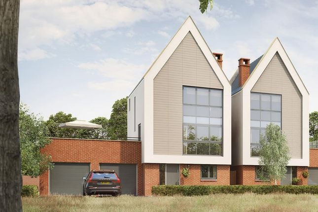 "Thumbnail Detached house for sale in ""Delamere"" at Gimson Crescent, Tadpole Garden Village, Swindon"
