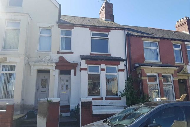 Thumbnail Terraced house for sale in Redbrink Crescent, Barry, Barry Island