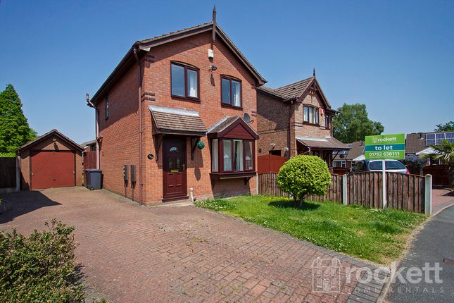 Thumbnail Detached house to rent in Springfield Drive, Kidsgrove, Stoke-On-Trent