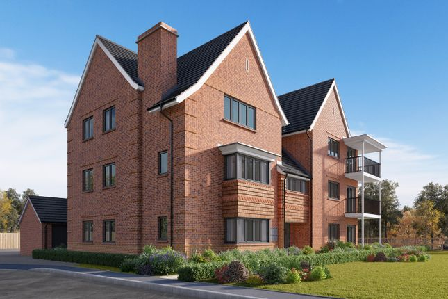 "Thumbnail Flat for sale in ""Limebrook Apartments - First Floor 2 Bed"" at Wycke Hill, Maldon"