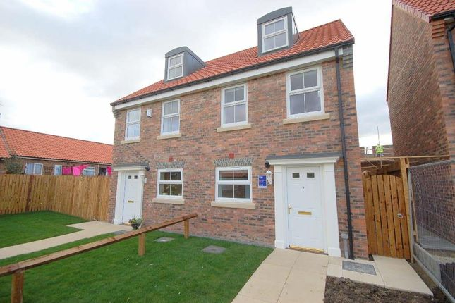Thumbnail Semi-detached house to rent in Percy Drive, Norby, Thirsk