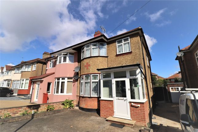 Thumbnail Semi-detached house for sale in Woodfield Avenue, Colindale, London