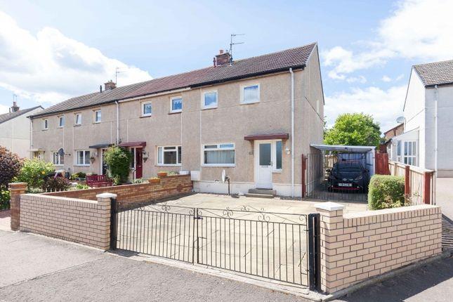 Thumbnail End terrace house for sale in Arthur View Crescent, Danderhall, Midlothian