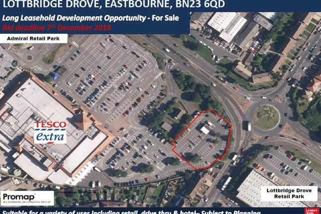 Thumbnail Land for sale in Land At Lottbridge Drove, Eastbourne, East Sussex