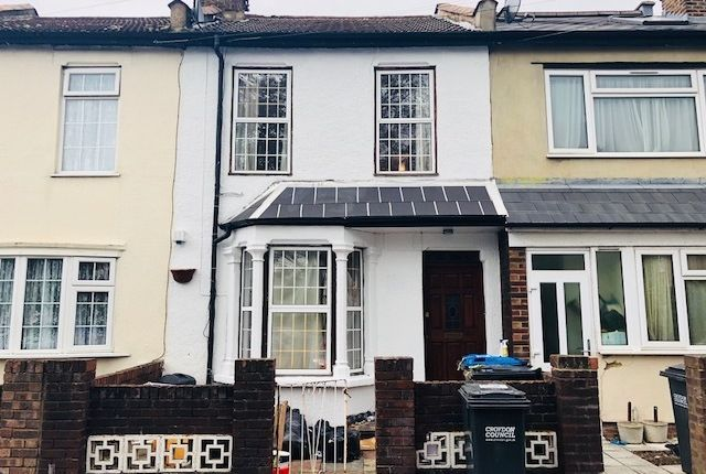 Thumbnail Terraced house to rent in Woodcroft Road, Thornton Heath