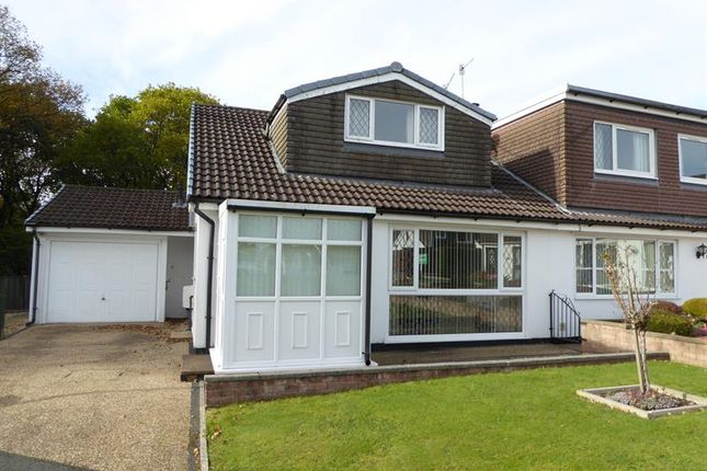 Thumbnail Semi-detached bungalow for sale in Darren Close, Rudry, Caerphilly