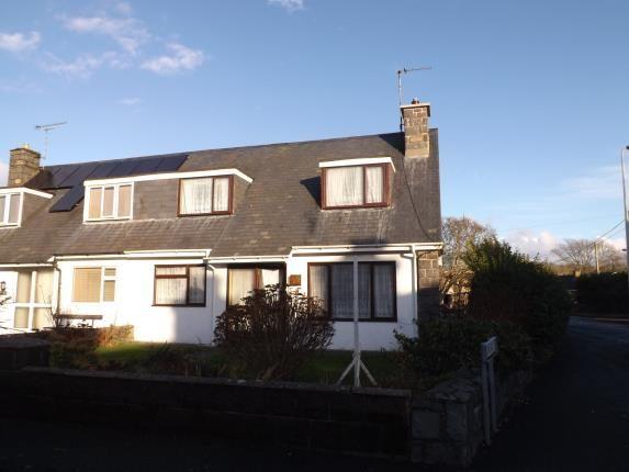 Thumbnail Semi-detached house for sale in Glanerch, Abererch, Pwllheli, Gwynedd