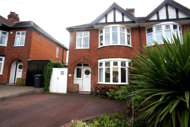 Thumbnail Semi-detached house to rent in Kings Drive, Littleover, Derby