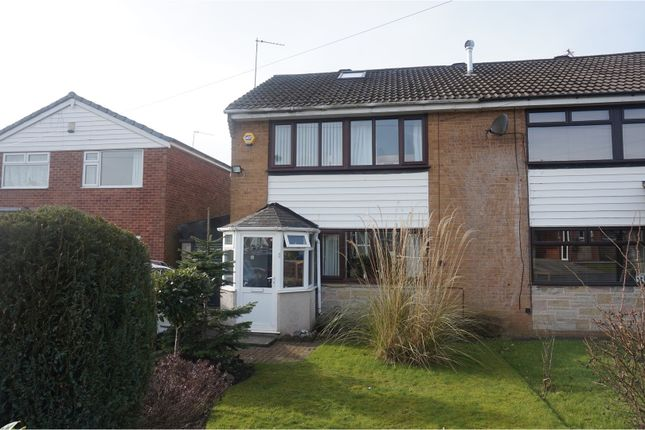 Thumbnail Semi-detached house for sale in Vicarage Close, Dukinfield