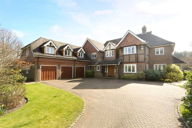 Thumbnail Detached house for sale in Beech Drive, Kingswood, Tadworth, Surrey