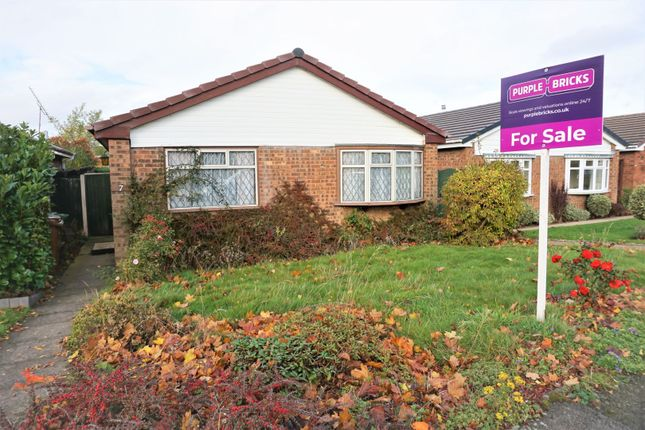 Thumbnail Detached bungalow for sale in St. Thomas Close, Walsall