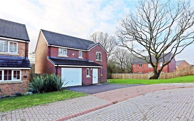 Thumbnail Detached house for sale in Dyffryn Y Coed, Church Village