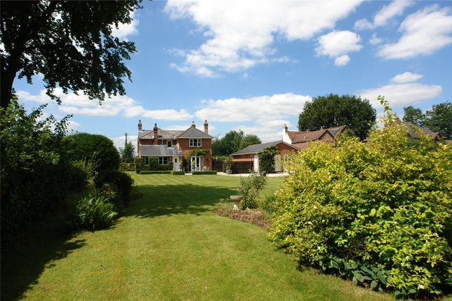 Thumbnail Detached house for sale in Wolverton Common, Tadley, Hampshire