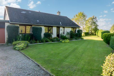 Thumbnail Detached bungalow for sale in Meikle Urchany, Nairn