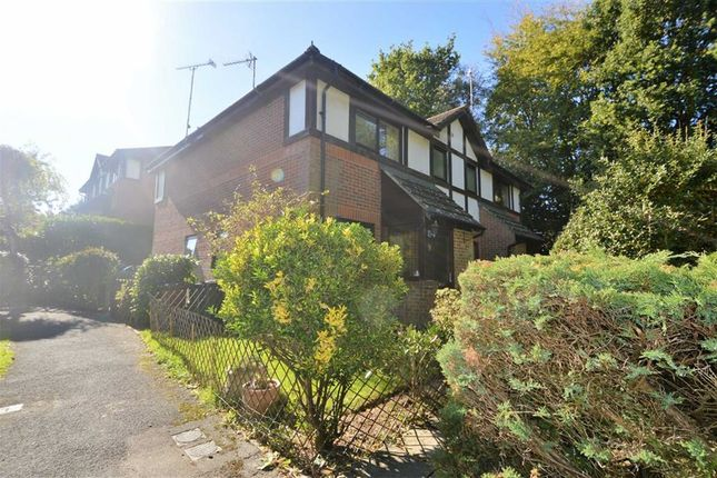 Thumbnail Terraced house to rent in Buller Close, Crowborough
