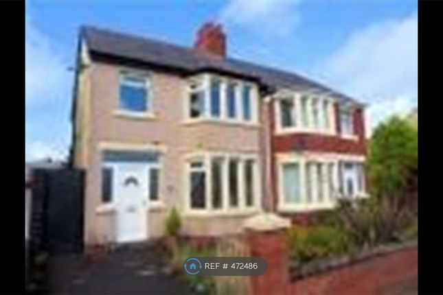 Thumbnail Semi-detached house to rent in Warbreck Drive, Blackpool