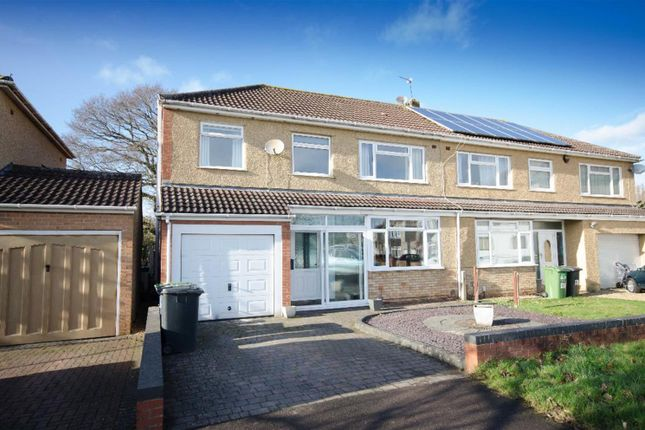 Thumbnail Semi-detached house for sale in Fouracre Crescent, Downend, Bristol