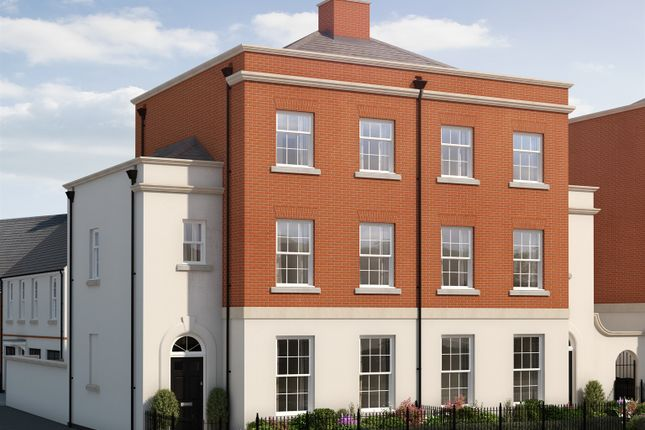 Thumbnail Town house for sale in Haye Road, Sherford, Plymouth