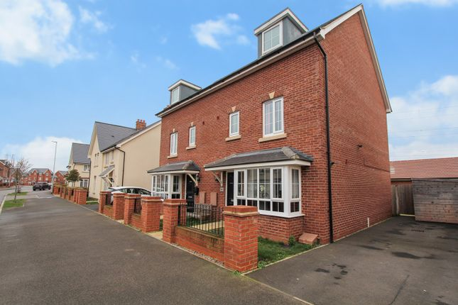 Thumbnail Semi-detached house for sale in Gold Furlong, Marston Moretaine, Bedford