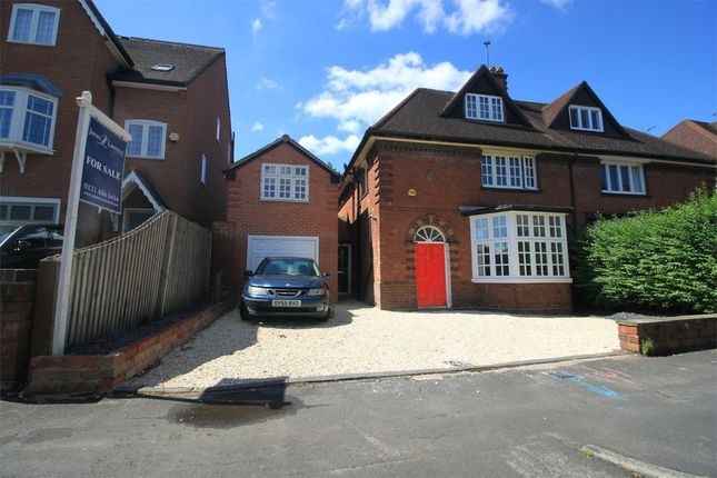 Thumbnail Semi-detached house for sale in Wentworth Road, Harborne, Birmingham