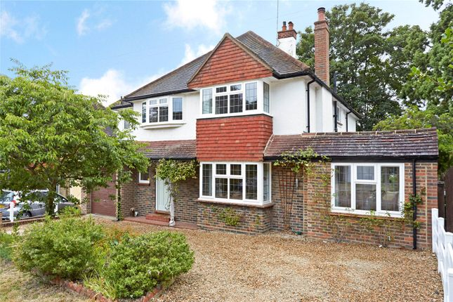Thumbnail Detached house for sale in Birches Close, Epsom, Surrey