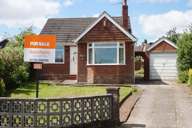 Thumbnail Detached bungalow for sale in Heath Grove, Meir Heath, Stoke-On-Trent, Staffordshire