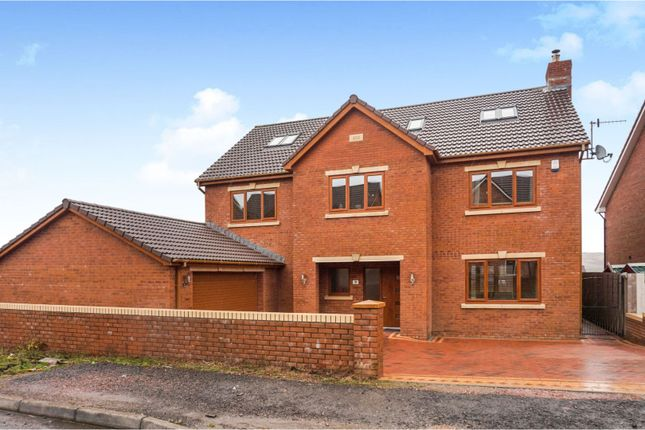 Thumbnail Detached house for sale in Beacon Heights, Merthyr Tydfil