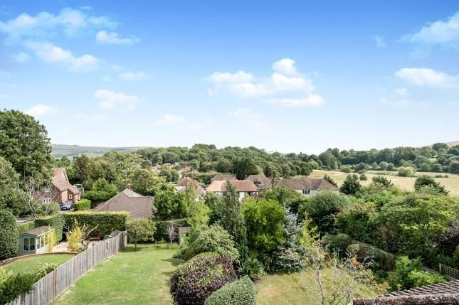 View Over Rear of Goring Road, Steyning, West Sussex, England BN44