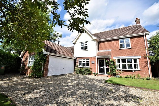 Thumbnail Detached house for sale in Hall Lane, Hingham, Norwich
