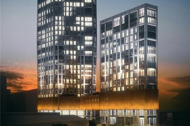 Thumbnail Flat to rent in Sky View Tower, High Street, Stratford