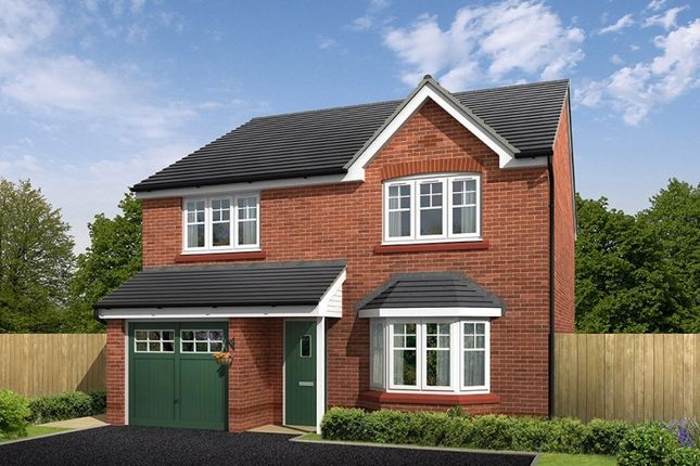 """Thumbnail Detached house for sale in """"Southwold"""" at Croxton Lane, Middlewich"""