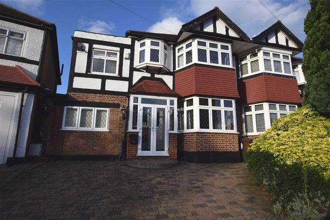 Thumbnail Semi-detached house to rent in Colvin Gardens, London