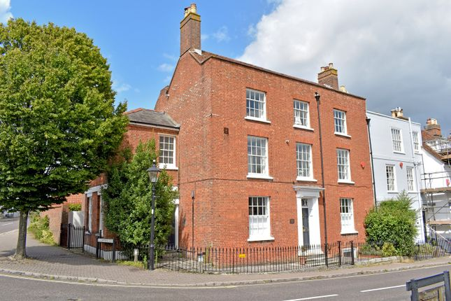 Thumbnail Town house for sale in Nelson Place, Lymington