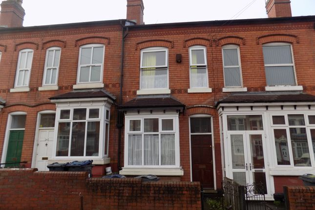 Thumbnail Terraced house for sale in Shenstone Road, Egbaston, Birmingham
