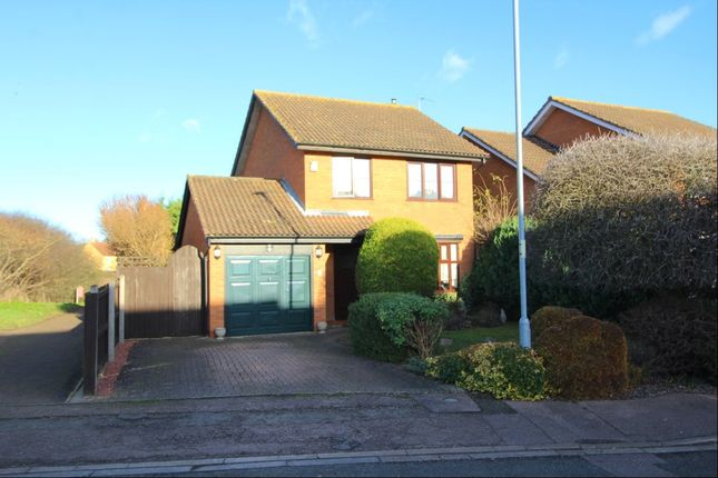 Thumbnail Detached house for sale in Thurne Way, Bedford, Bedfordshire