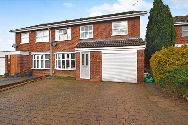 Thumbnail Semi-detached house for sale in Ashford Close, Aylesbury, Buckinghamshire