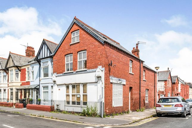 Thumbnail End terrace house for sale in Mardy Street, Cardiff