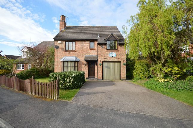 Thumbnail Detached house for sale in Needham Close, Oadby, Leicester