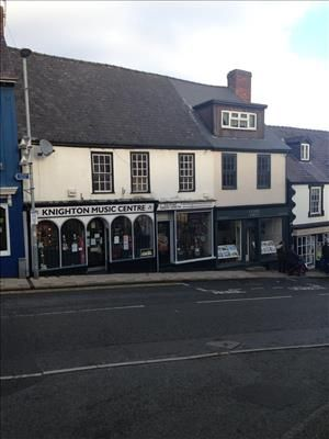 Thumbnail Commercial property for sale in 22/23, Broad Street, Knighton, Powys