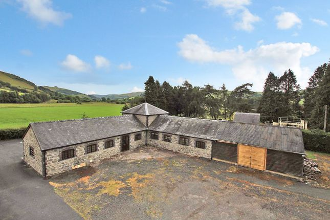 Thumbnail Barn conversion for sale in Llangurig, Llanidloes